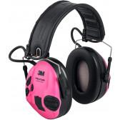3M PELTOR SportTac - Pink / Grøn