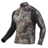 ½-lynlås overdel ThermoDry 240g Camo