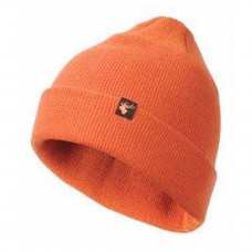ALASKA MERINO BEANIE ORANGE HUE