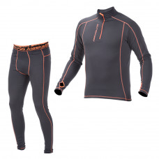 Alaska Undertøjssæt Midlayer 220G - Black / Orange