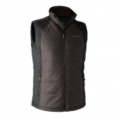 Moss Padded Vest - Brown Leaf