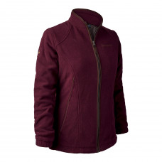 Lady Josephine Fleece med membran - Burgundy