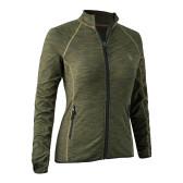 Lady Insulated Fleece - Green Melange