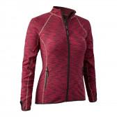 Lady Insulated Fleece - Red Melange