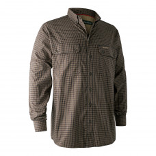 Callum Bamboo Skjorte - Blue check