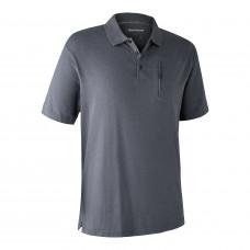 Larch Poloshirt - Iron melange