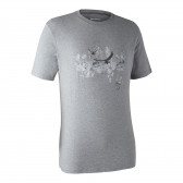 Ceder T-shirt - Greyhound melange