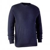 Kingston Strik med rund hals - Dark Blue