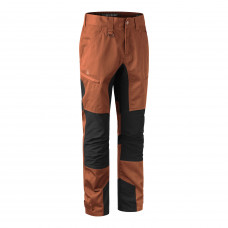 Rogaland stretch bukser med kontrast - Burnt Orange