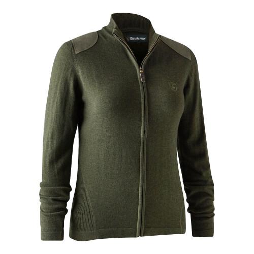 Lady Darlington Knit Cardigan - Green Melange New Jagttøj