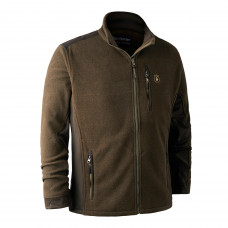 Muflon Zip-In Fleece Jakke - Art Green