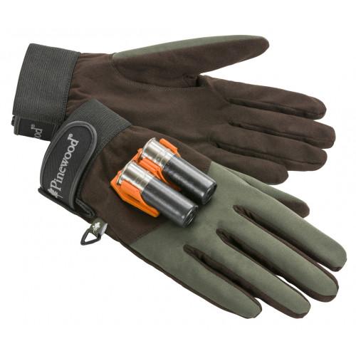 Quick reloader handsker - MossGreen/Dark Brown