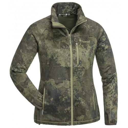 Frazer camou sweater til kvinder - Hunting olive starta
