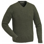 Finnveden V-neck Sweater - Green Melange