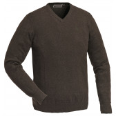 Finnveden V-neck Sweater - Brown Melange