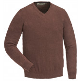 Finnveden V-neck Sweater - Dark Copper M..