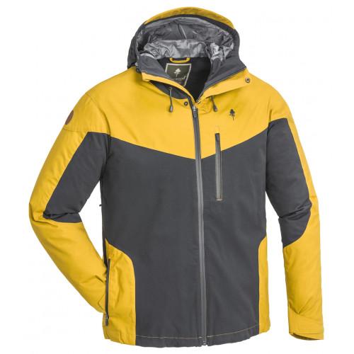 Finnveden hybrid extreme jakke - Dark anthracite/Mustard