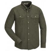 Edmonton Skjorte - Dark Green Melange