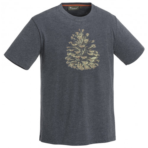 Outdoor T-shirt - Blue Melange