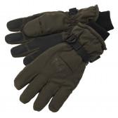 Membrane hunting handsker - Suede Brown