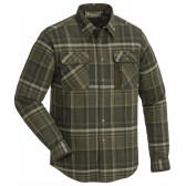 Cornwall Flannel Skjorte - Dark Brown