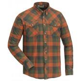 Lumberjack Skjorte - Terracotta/Green