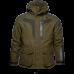 Helt jakke - Grizzly brown