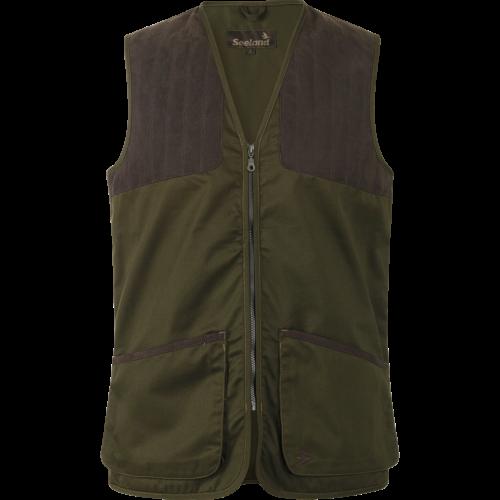 Weston club Classic vest - Pine green
