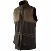 Winster softshell vest - Black coffee