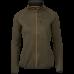 Hawker full zip fleece Women - Pine green