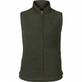 Woodcock fleece vest - Classic green