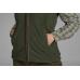 Woodcock fleece vest Women - Classic green