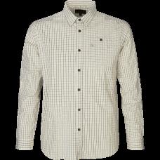 Newark skjorte - Pine green check