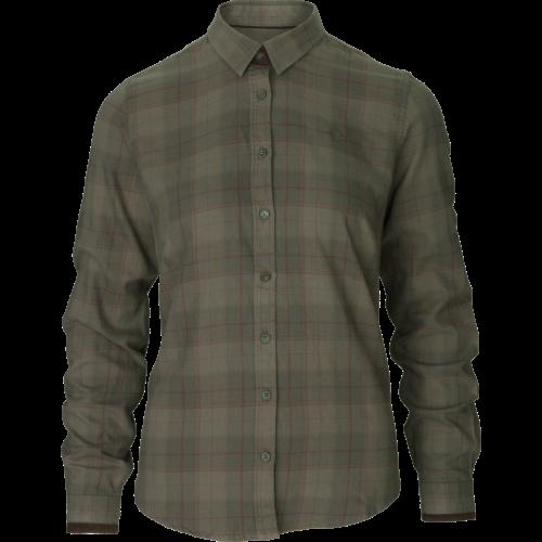 Range Lady skjorte - Pine green check