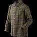 Edwin Kids skjorte - Shaded olive check
