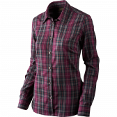 Pilton Lady skjorte - Raisin check
