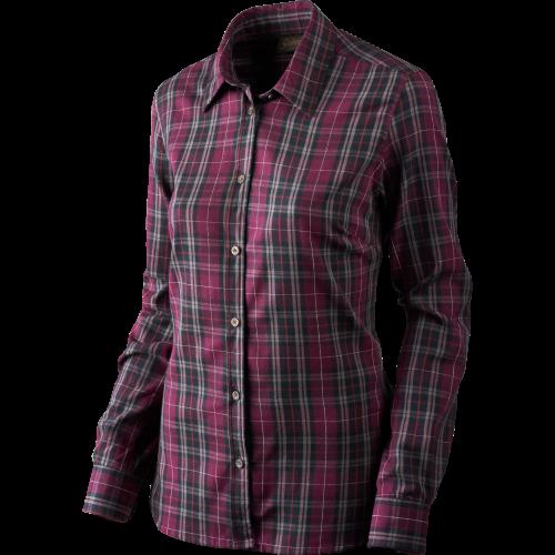 Pilton Lady skjorte - Raisin check