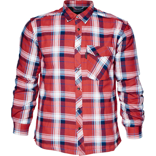 Moscus skjorte - Musk red check