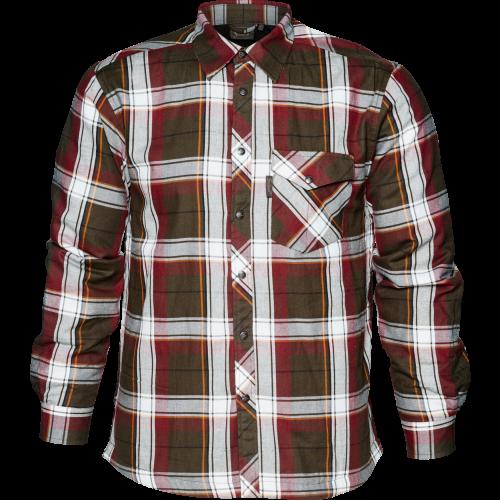 Moscus skjorte - Pine green check