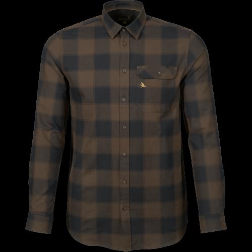 Highseat skjorte - Hunter brown