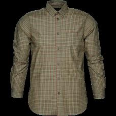 Colin L/S skjorte B/U - Forest night che..
