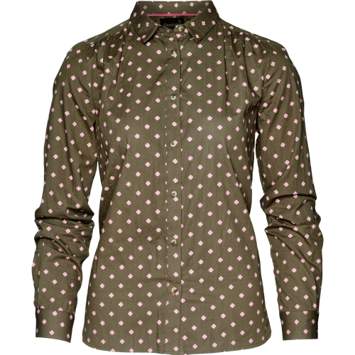 Erin Lady skjorte - Green Tile