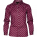 Erin Lady skjorte - Chocolate Tile