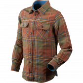 Nolan Kids skjorte - Sequoia rust check