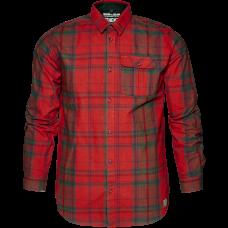 Conroy skjorte - Russet brown check