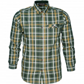 Gibson Skjorte - Forest green check