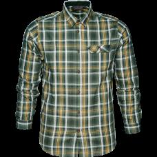 Gibson Skjorte - Forest green check