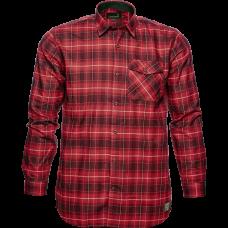Helt skjorte - Biking red check