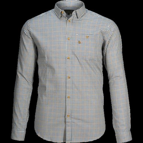 Shooting skjorte - Range blue