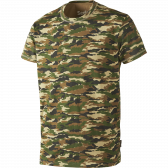Speckled S/S T-shirt - camo